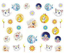30 Sailor Moon Assorted Water Nail Art Sticker Decals for Nail Polish Manicure