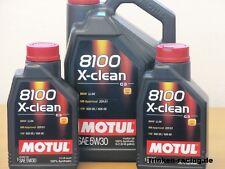 9,33€/l Motul 8100 X-clean 5W-30 C3 , A3/B4  7 Ltr  BMW LL 04  MB 229.51