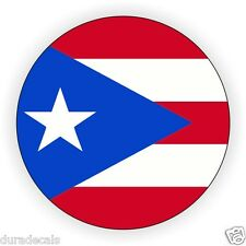 Puerto Rico Hard Hat Decal | Helmet Sticker | Label | Puerto Rican Stic kers