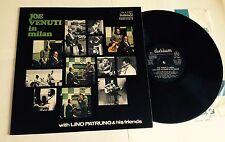 "LP VINYL 12"" JOE VENUTI IN MILAN 1971 DURIUM PATRUNO BARIGOZZI PALUMBO RIGON"