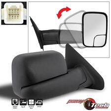 02-08 Ram 1500 03+ 2500 3500 Towing Extend Flip POWER+HEAT Side Mirror Passenger