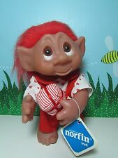 "1977 SNOOKUMS - 9"" Dam Norfin Troll Doll - NEW STORE STOCK"