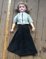 Antique Simon & Halbig Bisque Doll, S H 1079-8 DEP, Stunning German Doll ?