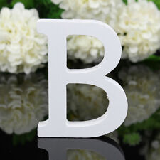 Wooden Letters B Alphabet Cake Party Wedding Home Decors Wall Hanging Ornament