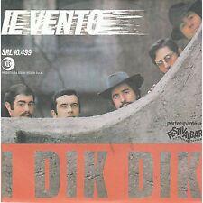 I DIK DIK - Il vento / L'esquimese - RARO 45 GIRI