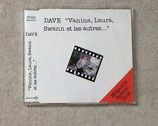 """CD AUDIO MUSIQUE / DAVE """"VANINA, LAURA, SWANN ET LES AUTRES..(MEGAMIX)"""" CDM 1995"""