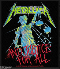 """Metallica - And Justice For All Patch 8.5cm x 10cm (3 1/4"""" x 4"""")"""