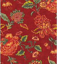 "WILLIAMSBURG PERSIANA BEJEWELED DESIGNER HOME DECOR FABRIC 54""W SOLD BY THE YARD"