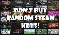 STEAM Key: Random* (GTA V, CS GO, Minecraft) - PC-REGION FREE [INSTANT DELIVERY]