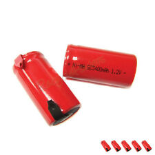 5 Sub C SubC 3400mAh Ni-Mh rechargeable Battery RED