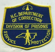 North Carolina Division of Prison Police Patch
