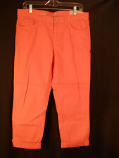 Ann Taylor Loft Boyfriend Rolled Up Hem Relaxed Leg Pants 6 NWT
