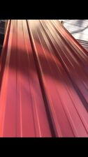 3x14ft Brand New Metal Roofing  Panels Red Color