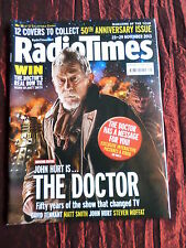 RADIO TIMES- DOCTOR WHO 50th ANNIVERSARY- 23- 29 NOV 2013 -( COVER NUMBER 12 )