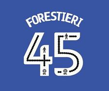 Forestieri 45 2016-2017 Sheffield Wednesday Home Football Nameset for shirt
