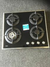 A Beko HISW64222SB Gas Hob - Black BRAND NEW WITH REPLACEMENT BOX .