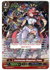 CARDFIGHT VANGUARD CARNIVOROUS MEGATRICK, PRANA SP NEW G-BT08/S06EN