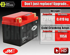 Upgrade GS GTX4L-BS to JMT LITHIUM battery more CCA +55A less weight -1.6kg