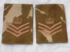 Engl. rango cinghie: Desert, sergente maggiore, COPPIA,