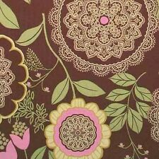 """AMY BUTLER """"LOTUS"""" LACEWORK Brown by yard"""