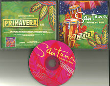 Carlos SANTANA Primavera ULTRA RARE 1 Track PROMO Radio DJ CD single 2001 USA