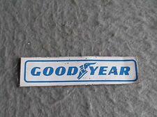 GOODYEAR TIRES DECAL VINTAGE 1970s Motorsports Sticker