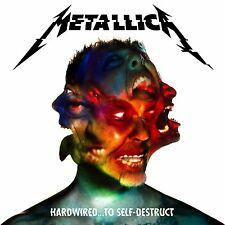 177 SOLD Metallica - Hardwired..To Self-Destruct - 3 CD Deluxe Ed -New FREE SHIP