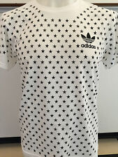 ADIDAS STAR FIELD WHITE GRAPHIC TEE T SHIRT MENS SIZE XX LARGE NWT