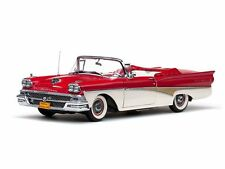 1958 Ford Fairlane 500 RED 1:18 SunStar 5262