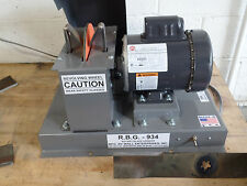 "RBG 934 Heavy Duty Commercial 9"" Lawn Mower Blade Bench Grinder / Sharpener USA"