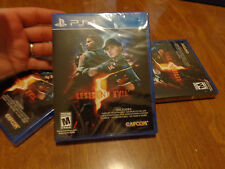 Resident Evil 5 PS4 Sony VIDEOGAME NEW FACTORY SEALED