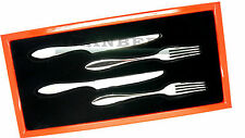 Gense Indra Starter/Dessert Cutlery Set Stainless Steel Quality Gift Set Swedish