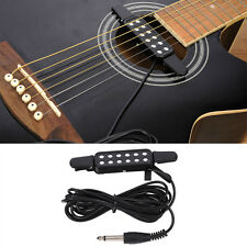 KQ-3 12 Hole Sound Pickup Microphone Wire Amplifier Speaker For Acoustic Guitar