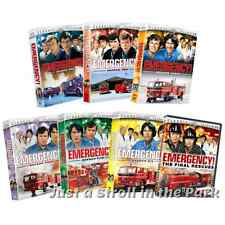 Emergency! Complete TV Series DVD Season 1 2 3 4 5 6 + Final Rescues Movies NEW!