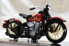 HARLEY DAVIDSON 1936 EL KNUCKLEHEAD Diecast Motorcycle Scale 1:18 - HD046