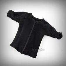 Hot Toys The Expendables 2: BARNEY ROSS Figure 1/6 BLACK ZIP-UP TEE