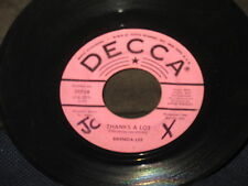 """Brenda Lee """"The Crying Game/Thanks a Lot"""" 45"""