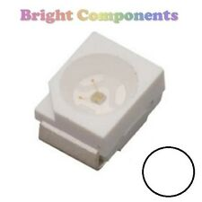 10 X Blanco plcc-2 (Led Smd Smt 3528/1210) - Ultra Brillante-Uk - 1st Class Post