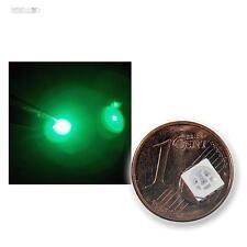 10 SMD LEDs 5050 verde,3 chips/PLCC6-POWER verde green vert groene LED SMT SMDs