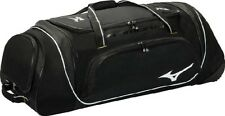 Samurai 4 Black Mizuno 360179 Catchers Wheeled Bag Baseball & Softball