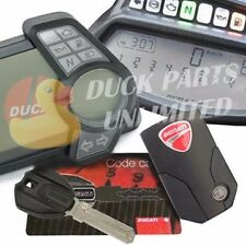 DUCATI LOST KEY CODE CARD PROGRAMING SERVICE DIAVEL MULTISTRADA HANDSFREE