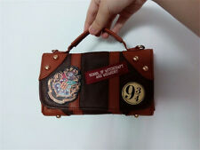 Harry Potter Hogwarts PU School Badge Wallet Package Christmas Gift New