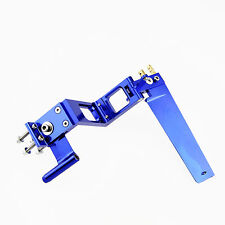 Z Type 110mm Rudder with Strut Blue for 4mm Flex Cable R/C Boat