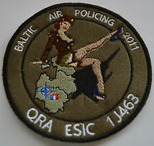 French Air Force Baltic Air Policing Quick Reaction Alert QRA ESIC 2011 Patch