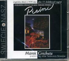 CD MAREK GRECHUTA Pieśni do słów T. Nowaka + nagrania dodatkowe
