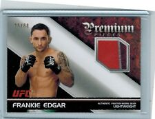 2012 TOPPS UFC KNOCKOUTS FRANKIE EDGAR 3-COLOR FIGHTER-WORN GEAR PATCH 29/88