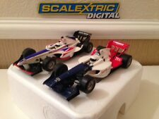 Scalextric Digital A1 Grand Prix Team GB & Team France Rare Set Cars (Excellent)