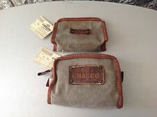 Vintage#80s EL CHARRO 2x CASE with shoes cleaner #new with tag
