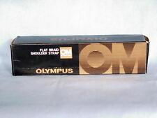 OLYMPUS OM FLAT BRAID SHOULDER STRAP NEW IN BOX