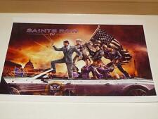 Saints Row IV ~ A3 Size Poster / Print ~ NEW